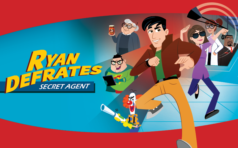 Ryan Defrates: Secret Agent – New AFA Animated Series for Kids