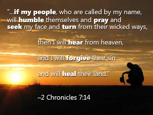 2 Chron 7:14