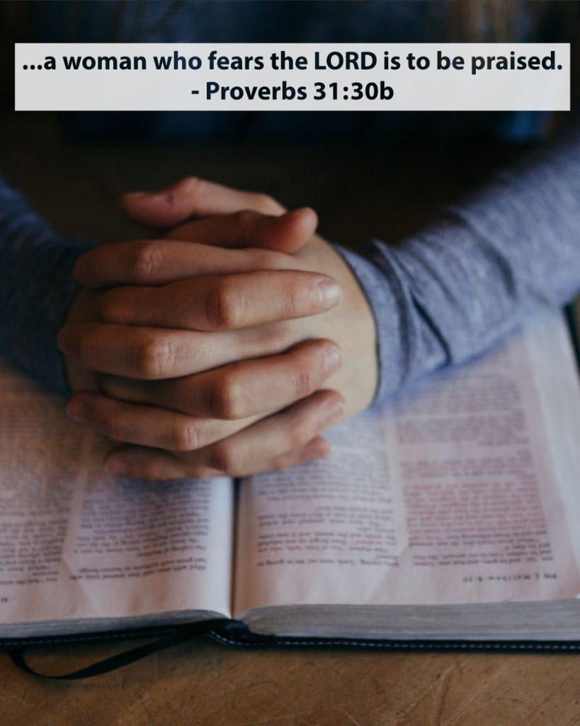 Proverbs 31:30b
